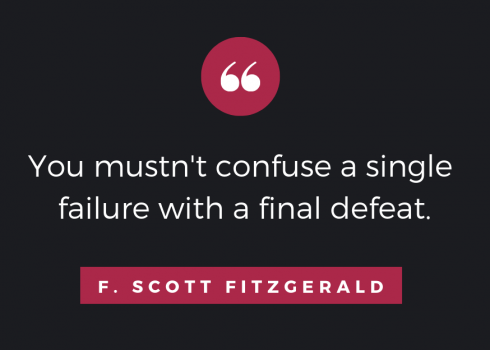 Quote by F. Scott Fitzgerald